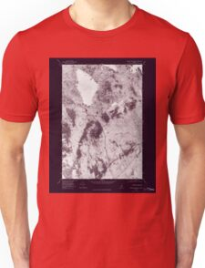 Maine USGS Historical Map Ragged Mountain 807083 1978 24000 Inversion T-Shirt