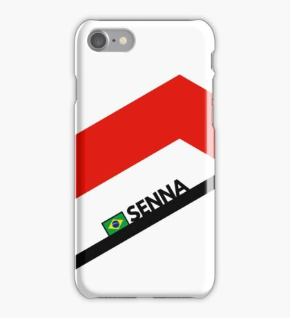 F1 Legends - Ayrton Senna [McLaren] iPhone Case/Skin
