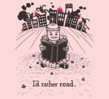I'd Rather Read Kids Clothes