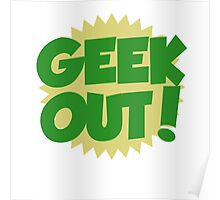 GEEK OUT Poster