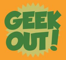 GEEK OUT by Boogiemonst