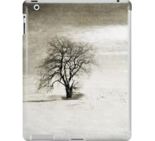 Black and White Winter Tree iPad Case/Skin