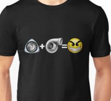 Rotary + Turbo = Awesome! Unisex T-Shirt