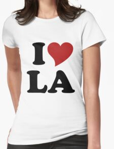 I love LA Womens Fitted T-Shirt