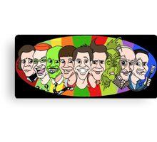 Jim Carrey - Chameleon Canvas Print