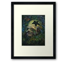 Cause of Death Framed Print