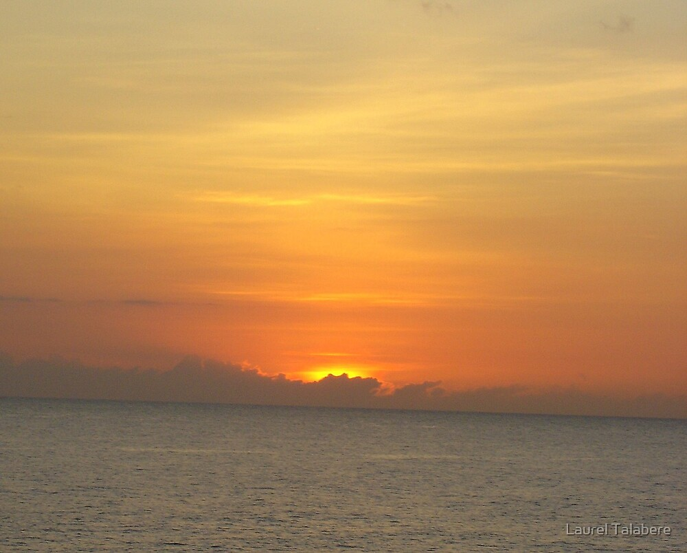 Jamaican Sunset by Laurel Talabere