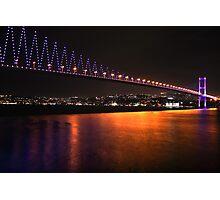 Istanbul Bridge Photographic Print