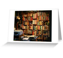Outback Library Greeting Card