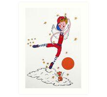 Basketball Angel Art Print