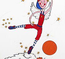 Basketball Angel by Lorna Gerard
