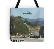 Helicopter sling work Tote Bag