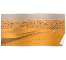 Dubai Desert Poster