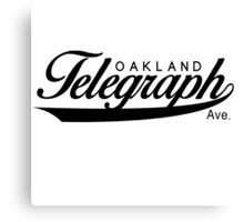 Telegraph Avenue (Oakland) Canvas Print