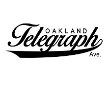 Telegraph Avenue (Oakland) Photographic Print