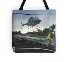 Helicopter work Tote Bag