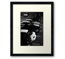 Carpark #1 Framed Print