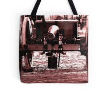 Resting Cannon Tote Bag