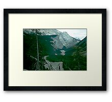 Rocky Mountain Drive Framed Print