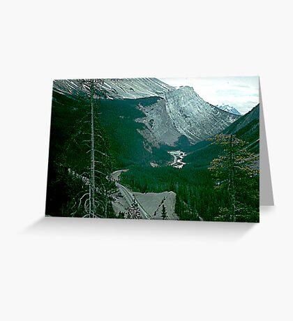 Rocky Mountain Drive Greeting Card