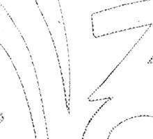 This Way - Graphic Version Sticker