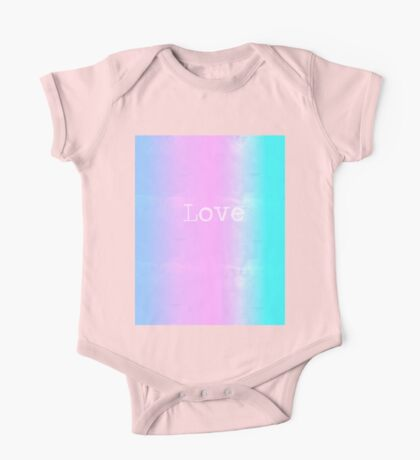 Love (abstract) One Piece - Short Sleeve