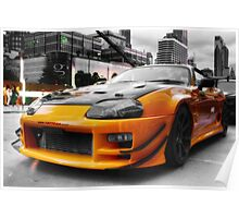 Pimped street car racer Poster