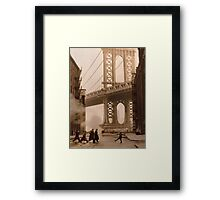 Once Upon a Time in America Framed Print