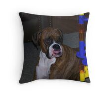 Can I Play??? Throw Pillow
