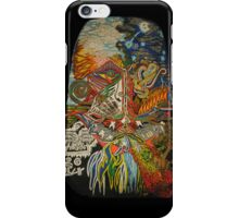 Shenron transcends the skies both day and night iPhone Case/Skin