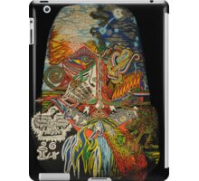 Shenron transcends the skies both day and night iPad Case/Skin