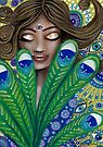 The Peacock Nymph by Cherie Roe Dirksen