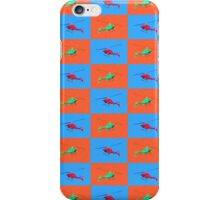 Helicopter Duvet iPhone Case/Skin