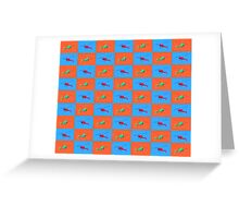 Helicopter Duvet Greeting Card