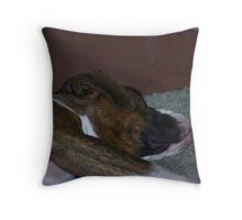 Just resting! Throw Pillow