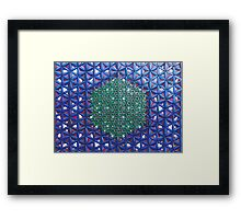 THE DIVINE BLUEPRINT OF REALITY IN CREATION Framed Print