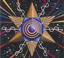 Kundalini Merkaba Love Vibration Activition by Francesca Love Artist