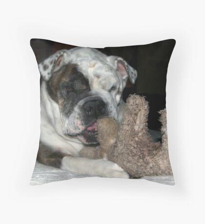 Moose & Bull Throw Pillow