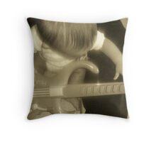 musical hands  Throw Pillow