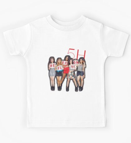 Fifth Harmony Reflection Tour Merch Kids Tee