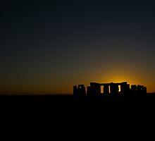 Stonehenge Silhouette by photosmith