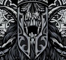 Viking Death Sticker