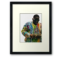 The Notorious B.I.G  Framed Print