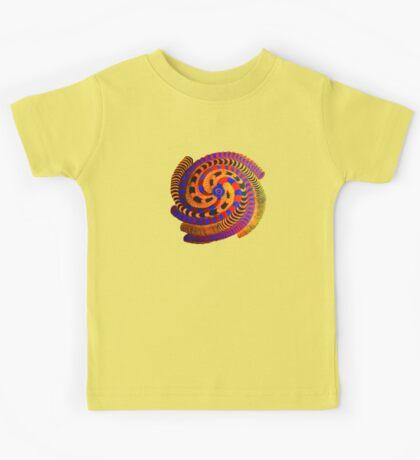 Spiraling Vision Within Kids Tee