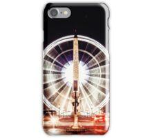 Ville des Lumières - Paris Place de la Concorde iPhone Case/Skin