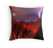 Desert Firestorm Throw Pillow