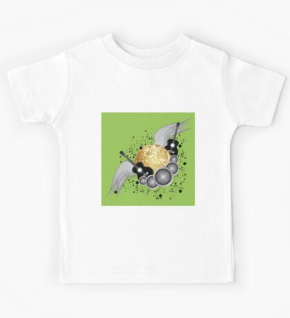 Abstract party design Kids Tee