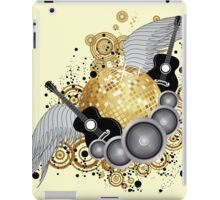 Abstract party design 2 iPad Case/Skin