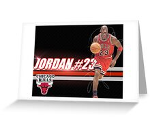 Michael Jordan Shirt Greeting Card