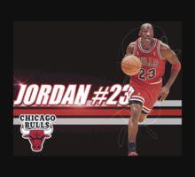Michael Jordan Shirt by Kosta Kalenteridis